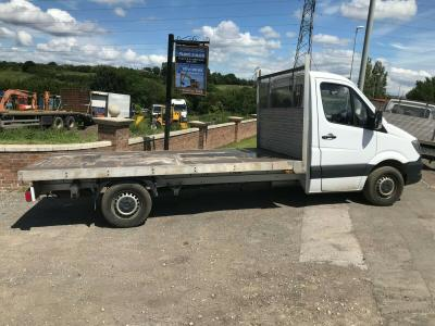MERCEDES SPRINTER TRANSIT VOLKSWAGON FLATBED PICKUP BODY NOT TIPPER