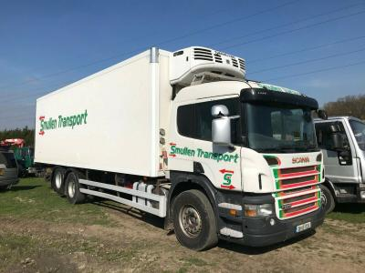 SCANIA 6X2 FRIDGE BOXVAN WAGON LORRY TRUCK YEAR 2008