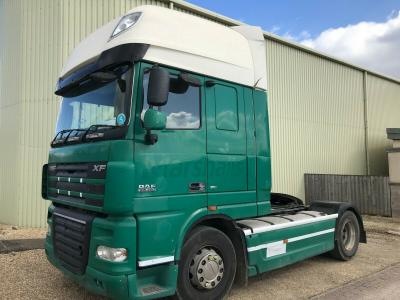 DAF XF 105 460 BHP EURO 5 TRACTOR UNIT WAGON LORRY TRUCK YEAR 2009