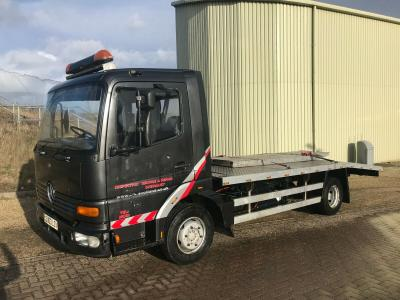 MERCEDES RECOVERY BEAVERTAIL TRUCK LORRY WAGON 7.5 TON TILT N SLIDE