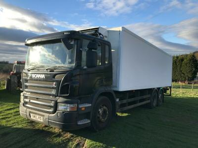 SCANIA 6X2 FRIDGE WAGON LORRY TRUCK YEAR 2010