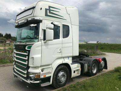 SCANIA REARLIFT TAG AXLE TRACTOR UNIT YEAR 2009 WAGON LORRY TRUCK