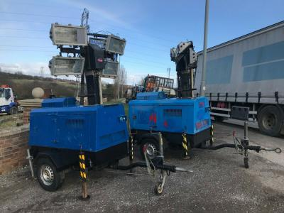 VT1 LIGHTING TOWER 240 VOLT GENERATOR SETS