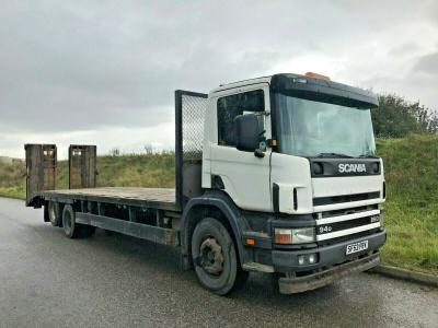 SCANIA 6X2 BEAVERTAIL RECOVERY LOW LOADER WAGON LORRY TRUCK
