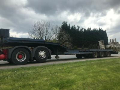 DENNISON LOW LOADER BEAVERTAIL RECOVERY TRAILER NOT KING NOOTEBOOM ANDOVER
