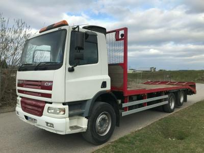 DAF 75 6X2 PLANT WAGON LORRY TRUCK RECOVERY ANDOVER BODY BEAVERTAIL
